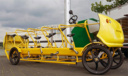 Camping Beds For Tents >> Pedal Powered School Bus