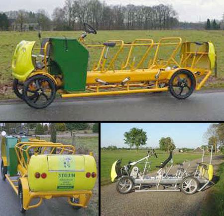 Pedal School Bus