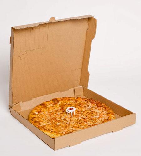 Pizza Box Smoking Pipe