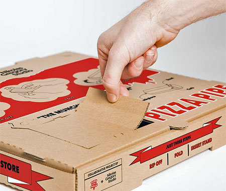 Push for Pizza Pizza Pipe