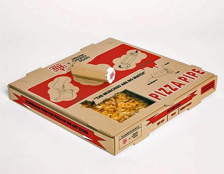 Cardboard Pizza Pipe