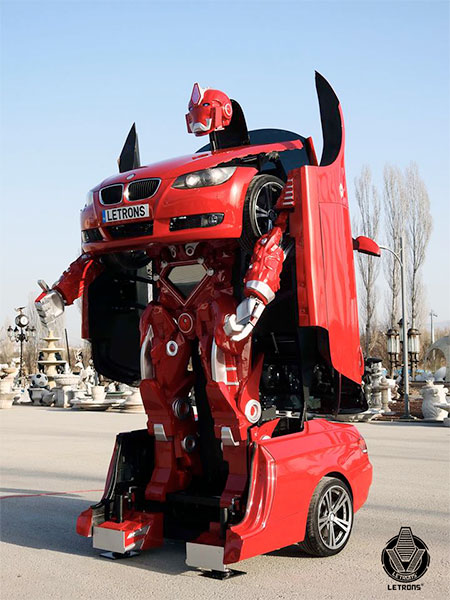 Real Life BMW Transformer