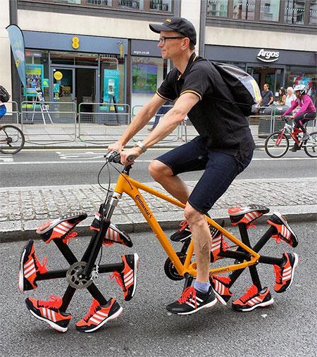 Shoes Bike