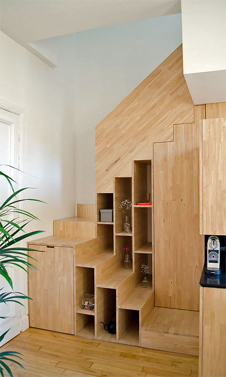 Shoes Storage Staircase