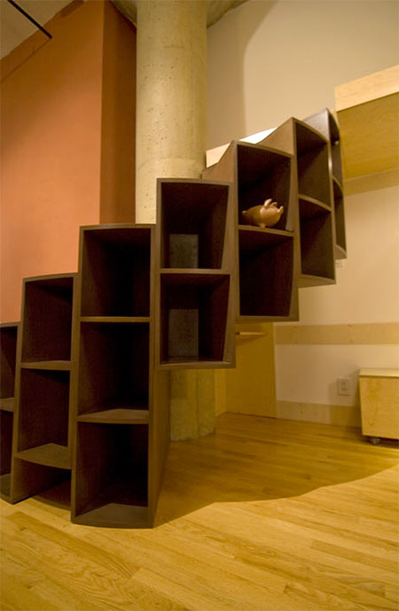 Because We Can Storage Staircase