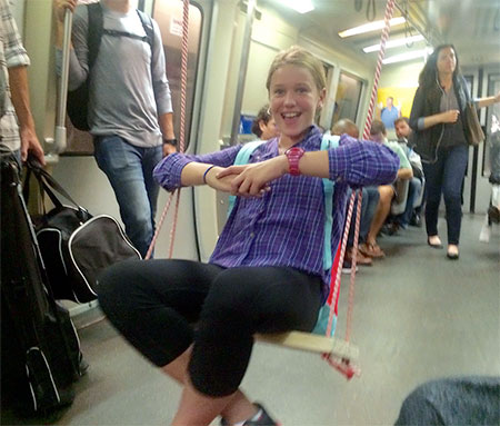 Hunter Franks Subway Swing