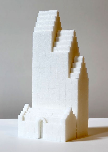 Sugar Cube Sculptures
