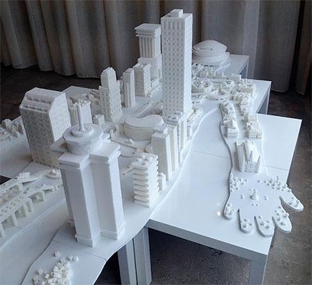 Sugar Cube Sculpture