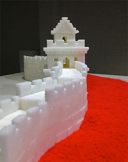 Brendan Jamison Sugar Cube Sculptures