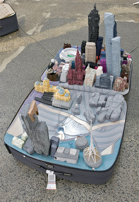 Yin Xiuzhen Suitcase Cities