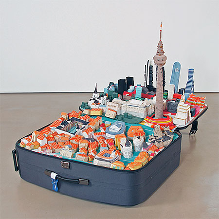 Yin Xiuzhen Suitcase City