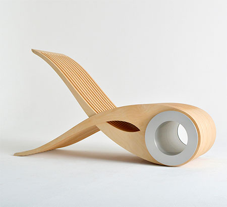 Stephane Leathead Transforming Chair