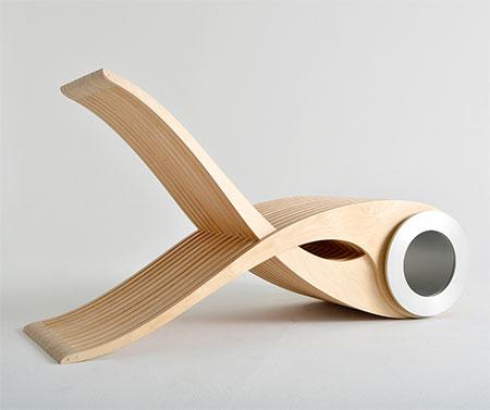 Stephane Leathead Exocet Chair