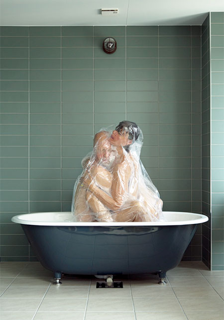 Shrink Wrapped Couples