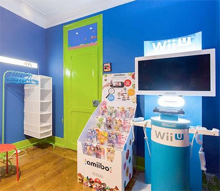 Super Mario Airbnb Room