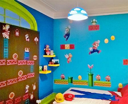 Nintendo Bedroom