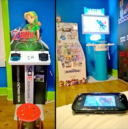 Nintendo Hotel Room