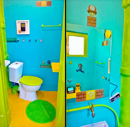 Nintendo Airbnb Room