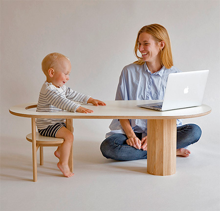 Baby Seat Coffee Table