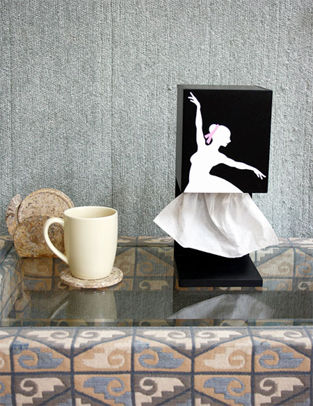 Ballerina Tissue Dispenser