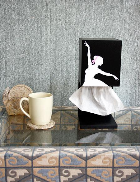 Ballerina Tissue Dispenser