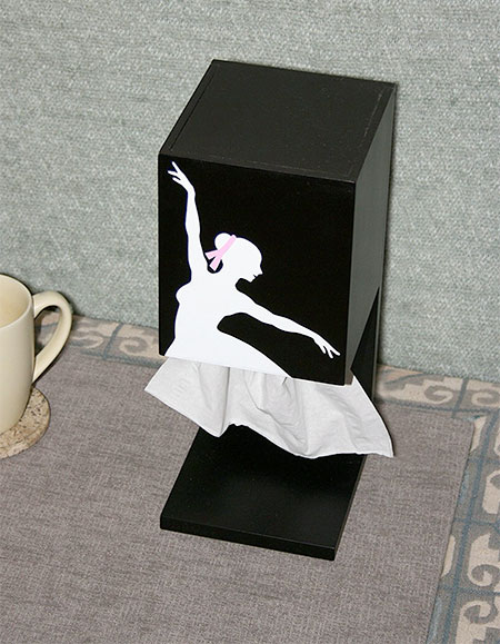 Ballerina Tissue Box