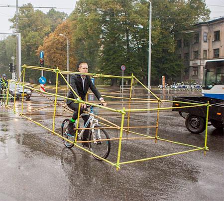 Latvian Bicycle Cars