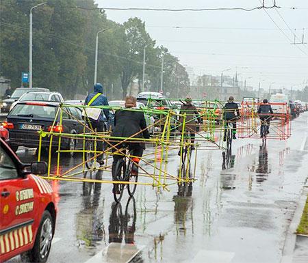 Latvian Bicycle Car