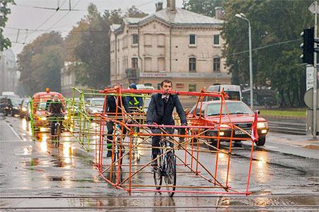 Latvia Bicycle Car