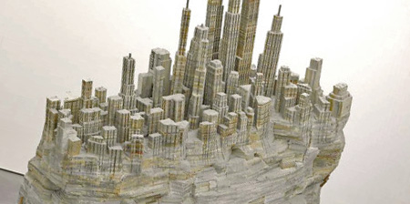 Book Sculptures by Liu Wei