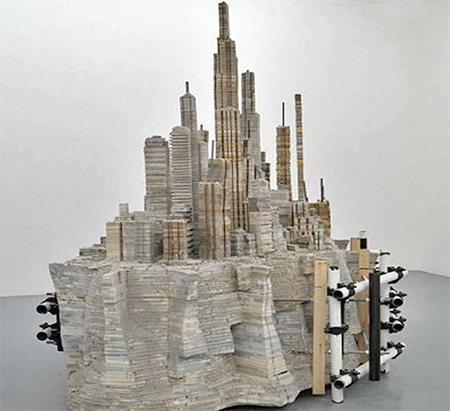 Liu Wei Book Cities