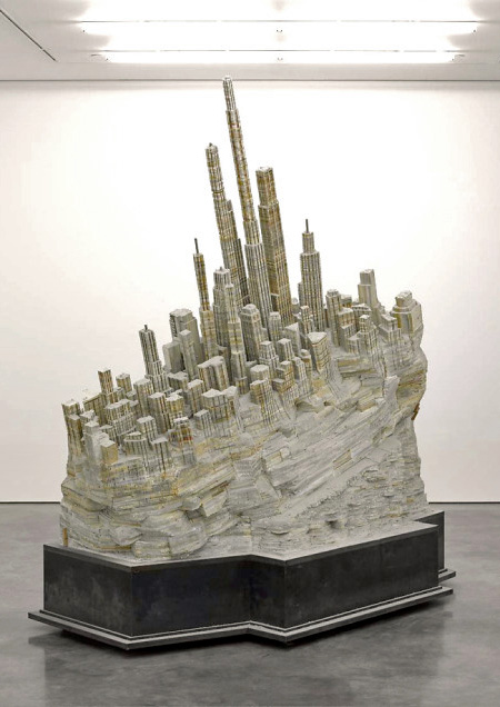 Liu Wei Book Sculpture