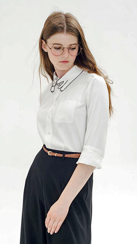 Cat Collar Blouse