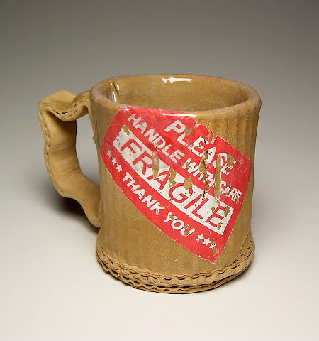 Ceramic Cardboard Mug