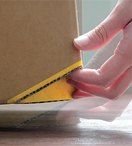 Corner Cardboard Box