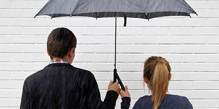 Double Handed Umbrella