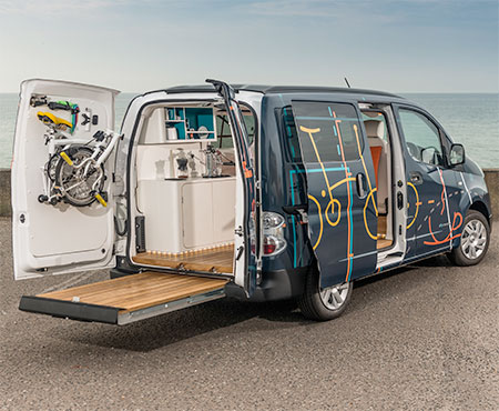 Electric Van Mobile Office