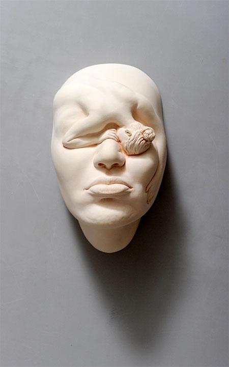 Porcelain Sculptures by Johnson Tsang