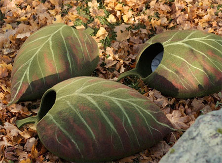 Leaf Shaped Cat House