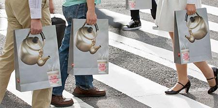 Instant Noodles Shopping Bag