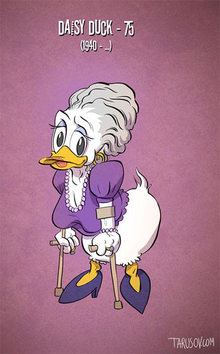 Andrew Tarusov Old Cartoon Characters