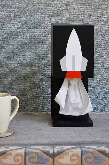 Rocket Tissue Dispenser