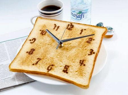 Clock Toast