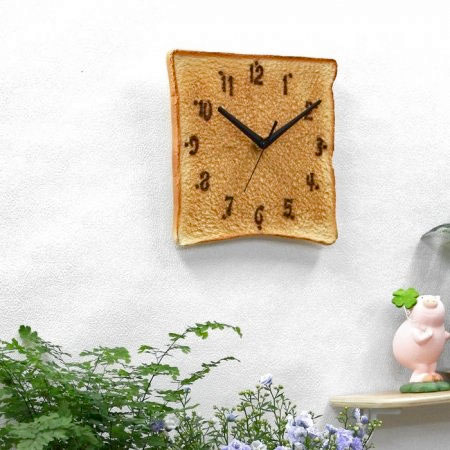Japanese Toast Clock