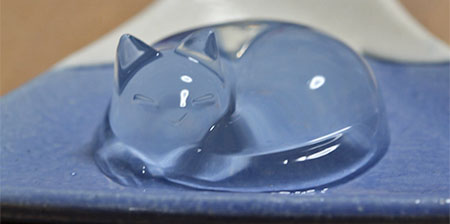 Cat Shaped Water Cake