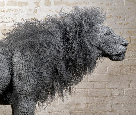 Chicken Wire Animal Sculptures