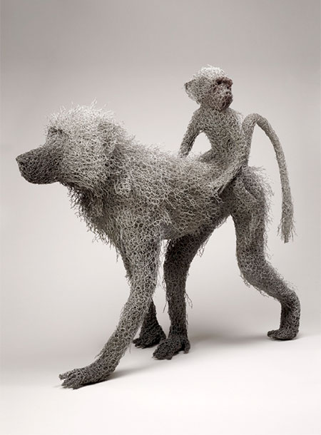 Kendra Haste Chicken Wire Animals