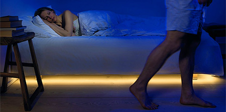 Motion Activated Bed Light