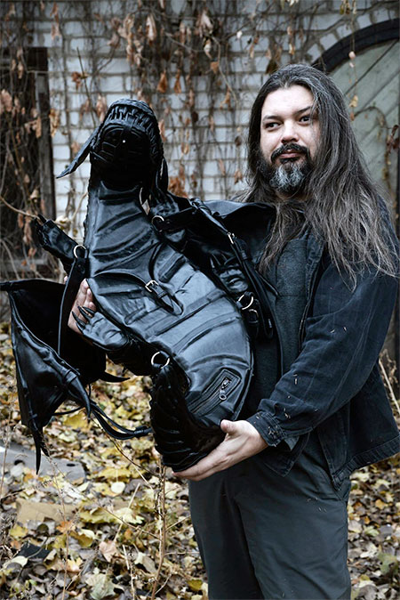 Black Dragon Backpack