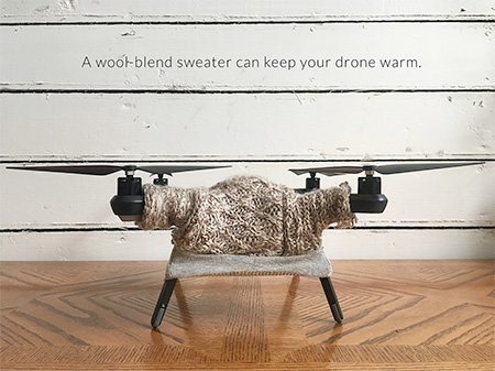 Sweaters for Drones